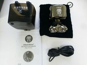 Skull Shaver Pitbull Platinum PRO Electric Razor Wet/Dry Rotary COMPLETE (BB-40)
