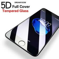 5D Gorilla Full Coverage Tempered Glass Protector For Apple iPhone 8 PLUS-BLACK