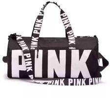 Victoria Secret PINK black gym bag NWT