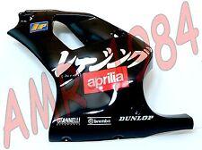 CARENA ANTERIORE SX APRILIA RS 50 DEL 1998 COLORE NERO CON DECALCO  AP8239904