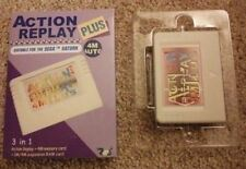 Sega Saturn Action Replay 4M Plus 3 in 1 Memory Card Codes Auto Ram NEW