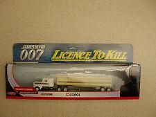 Corgi James Bond TY07201 Licence to Kill Kenworth Tanker Unused Boxed