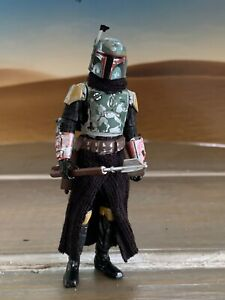 Star Wars Custom 3.75 figure Mandalorian Boba Fett - Distressed armor lot #1