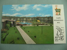 Holiday Inn Motel CAPE GIRARDEAU MISSOURI MO Vintage Postcard