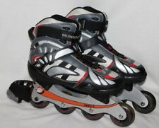 Mongoose Inline Skates Roller Blades Adjustable Mens 8 ABEC 5 Red Black NICE