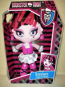 Monster High Draculaura- Plush Toy 2013 BNIB. FOR THE SUPER FAN COLLLECTOR!