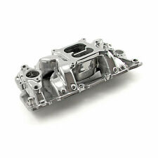 PC Air Gap Aluminum Intake Manifold 283 305 327 350 383 400 SBC CHEVY (Polished)