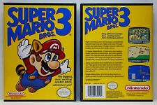 Super Mario Bros. 3 - Nintendo NES Custom Case - *NO GAME*