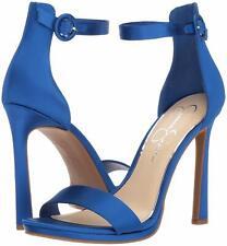 Jessica Simpson Women's PLEMY Heeled Sandal Royal Blue iris Pumps