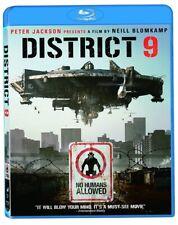 District 9 (Blu-ray) New Sealed Sci-fi Movie