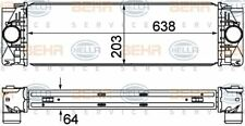 8ML 376 777-404 HELLA Ladeluftkühler Lader