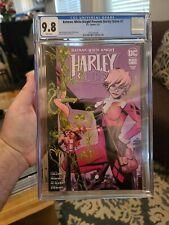Cgc 9.8 Batman White Knight Presents Harley Quinn #2 DC comic