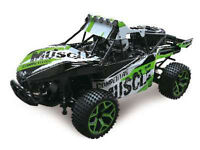 RC Sand Buggy Extreme 1:18 4WD proportionales Gas inkl Akku und Ladegerät grün