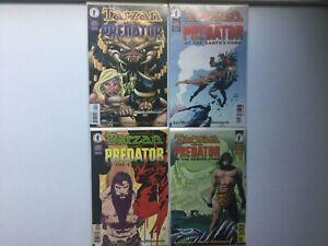 Tarzan Versus Predator 1-4 At Earths Core Lee Weeks Walt Simonson VF/NM