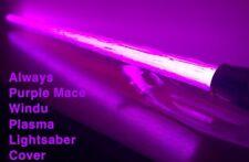 STAR WARS MACE WINDU LIGHTSABER COVER, ALWAYS PURPLE PLASMA EFFECT for Force FX
