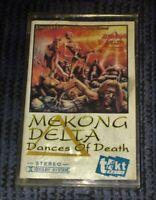Speed Thrash Death Mekong Delta Dances of Death Cassette Tape Played Rare