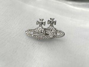 925 STERLING SILVER SATURN Orb Mayfair bas relief earrings