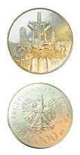 Poland Polish Pride Solidarity Coin 10,000 Zlotych 1990 Uncirculated