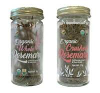 McCabe USDA ORGAN Rosemary (2-Pack) (Rosemary and Crushed Rosemary)