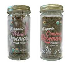 McCabe Organic Rosemary (2-Pack) (Whole Rosemary and Crushed Rosemary)