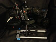 Blackmagic Design Cinema Camera 2.5K EF Mount with Lenses & Accessories
