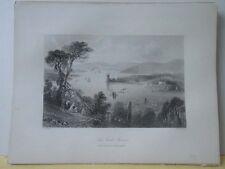 Vintage Print,CORK RIVER,Scenery of Ireland,Bartlett