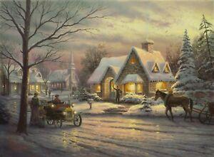 Memories of Christmas by Thomas Kincade (Unframed)