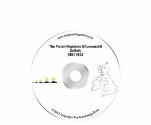 The Parish Registers Of Lowestoft Suffolk 1561-1812