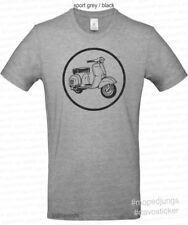 T-Shirt Vespa  Mopedjungs  Vespa GT Super Sprint 125 50 Mofa Roller Oldtimer
