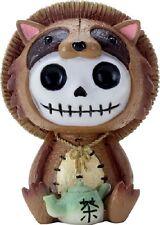 New Furrybones Furry Bones Tanuki Skull Skeleton Raccoon Dog Figurine Gift 9060