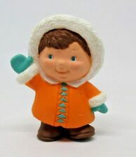 Hallmark Merry Miniature Boy in Orange Parka