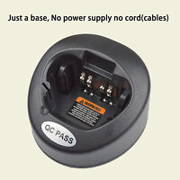 Only Base no power supply for Motorola XTS2500 Portable Radio Battery Charger