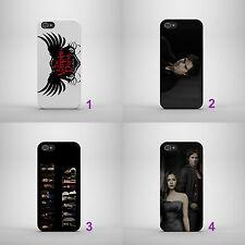 Vampire Diaries Damon Salvatore duro caso cubierta teléfono para IPHONE SAMSUNG HUAWEI