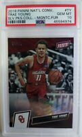 2019 Panini The National Magnetic Fur Trae Young #TY, #'d /99, PSA 10, Pop 2