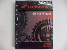 GENUINE HONDA SERVICE SHOP MANUAL MUV700 BIG RED 2009-2013