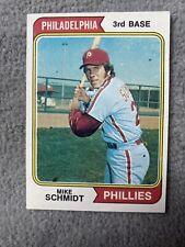 1974 Topps Set Break #283 Mike Schmidt