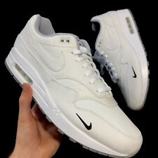 NIKE AIR MAX 1 / DSM WHITE/WHITE-WOLF GREY-BLACK SIZE UK11.5/US12.5 AH8051-100