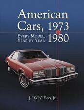 American Cars, 1973-1980: Every Model, Year by Year-ExLibrary