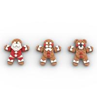 PDF Anleitung Instruction MOC Weihnachtsdekoration Weihnachten aus Lego Steinen