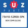 73410-52R00-5PK Suzuki Box comp,glove 7341052R005PK, New Genuine OEM Part