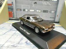 PEUGEOT 504 Coupe V6 1976 brown braun met. SP Minichamps Maxichamps 1:43