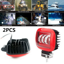 2pcs 30W Car Square Working Light LED 6000K Truck Marine Spotlight for Wrangler