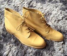 Ladies Gold Carvela Ankle Boots Size 40 Unworn