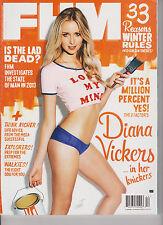 FHM MAGAZINE UK DECEMBER 2013, DIANA VICKERS.