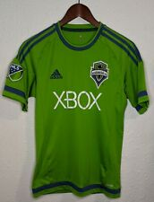 ADIDAS Seattle Sounders FC MLS Soccer Jersey Womens Small S Green