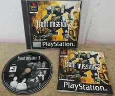 Front Mission 3 (Sony PlayStation 1) VGC