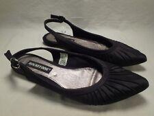 Womens Rocket Dog Black Slip On Pleated Ballet Flats Sandals Size 6.5