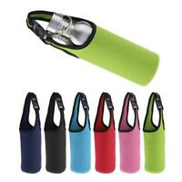 Sports Water Bottle Tumbler Carrier Bag Cover Cup Holder Protective Pouch