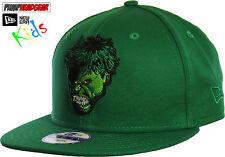 The Hulk Marvel Comics New Era 950 Snapback Kids Cap (Age 5 - 10 Years)