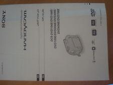 Sony Handycam manual de instrucciones DCR-DVD106E 108E 109E 306E 308E 608E 708E árabe